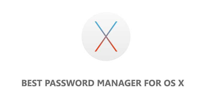Best Password Manager For OSx