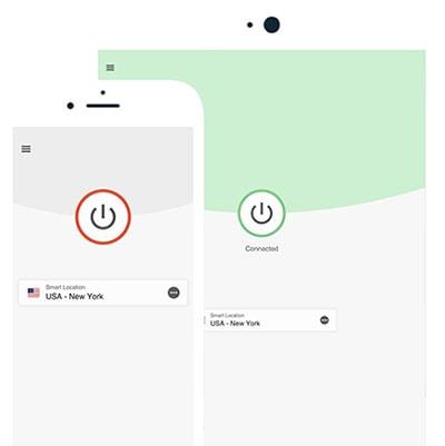 ExpressVPN has a user-friendly interface