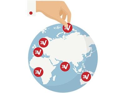 ExpressVPN servers location