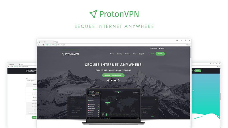 protonvpn-website