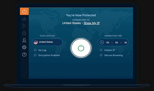 Ivacy VPN Review Software Screenshot