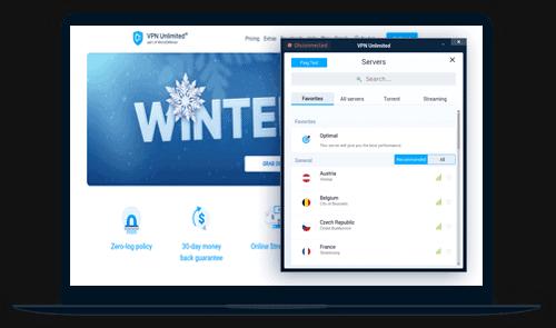VPN Unlimited Review Screenshot